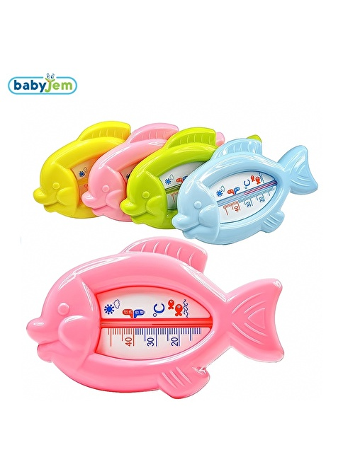 Baby Jem Babyjem Kurbaga Banyo&Oda Termometresi  Yeşil